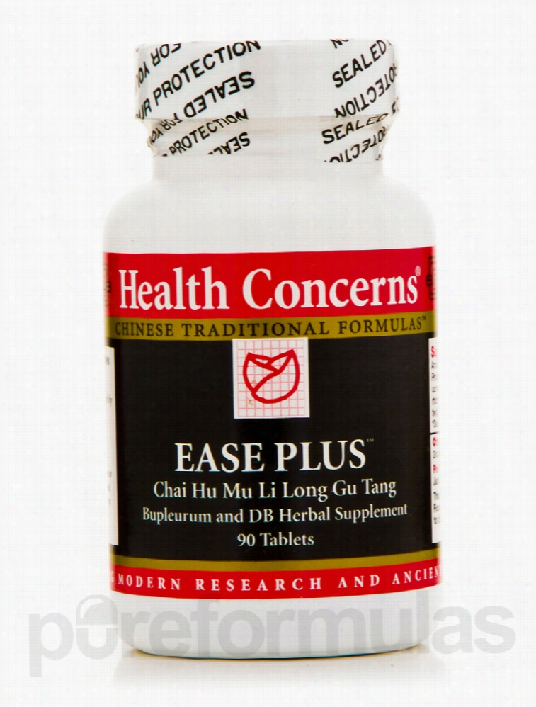 Health Concerns Liver Support - Ease Plus (Bupleurum & Dragon Bone) -