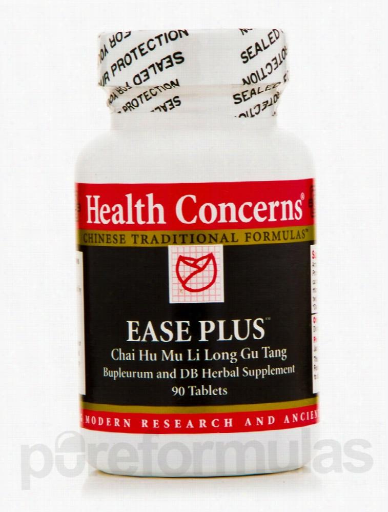 Health Concerns Liver Support - Ease Plus (Bupleurum & Dragon Bone) -