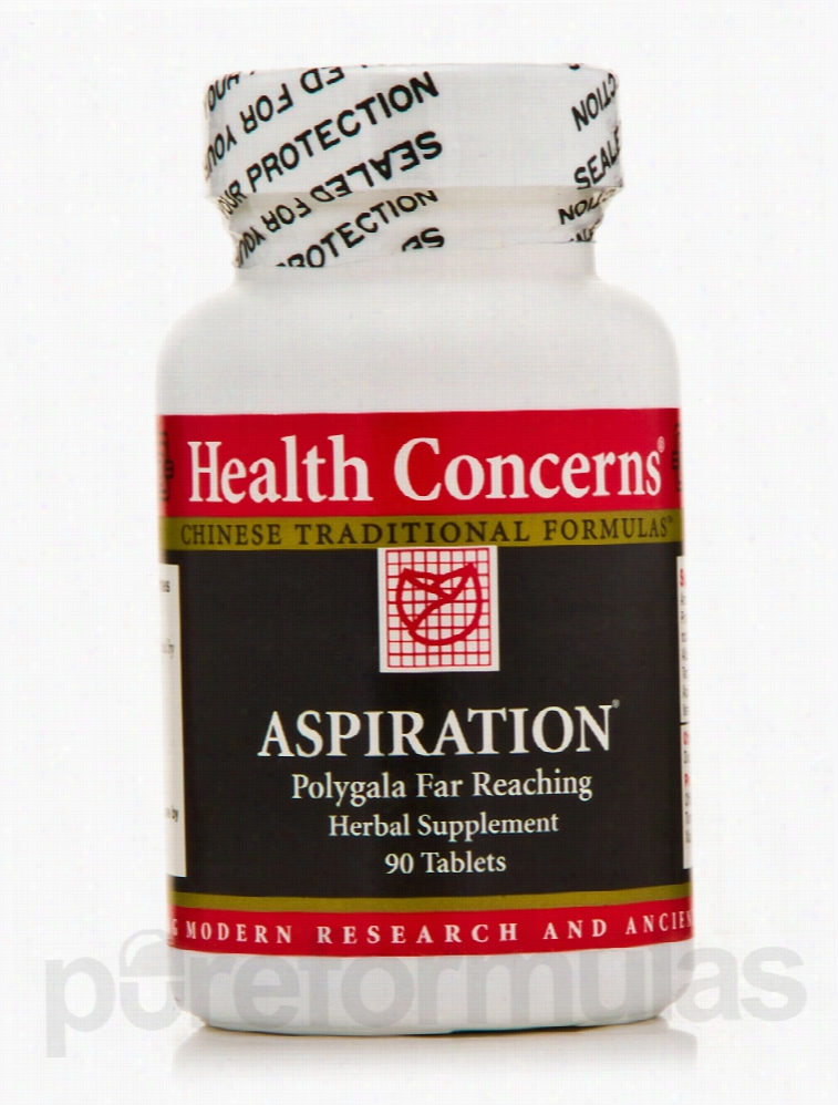 Health Concerns Metabolic Support - Aspiration - 90 Tablets