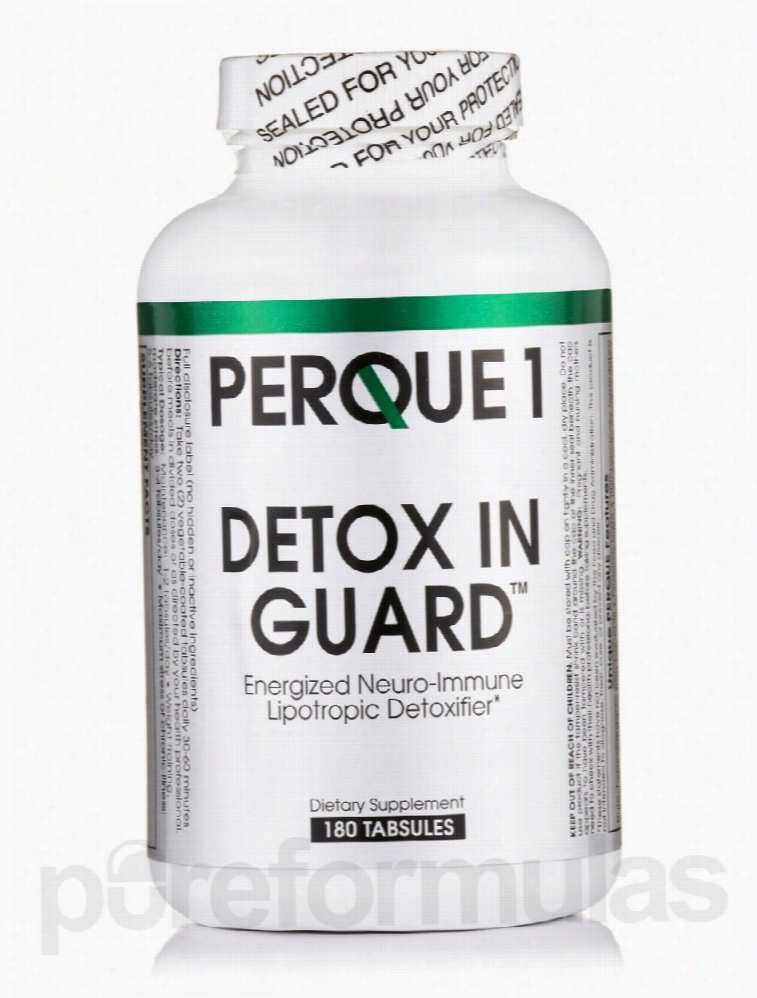 Perque Detoxification - PERQUE1 Detox IN Guard - 180 Tabsules