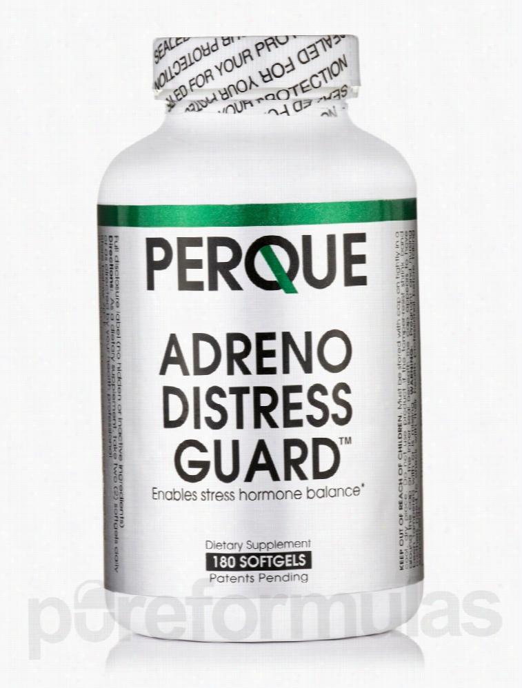Perque Hormone/Glandular Support - Adreno Distress Guard - 180