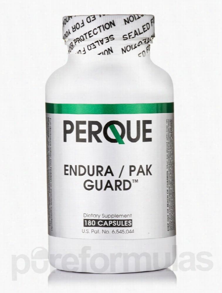 Perque Nervous System Support - Endura/PAK Guard - 180 Capsules