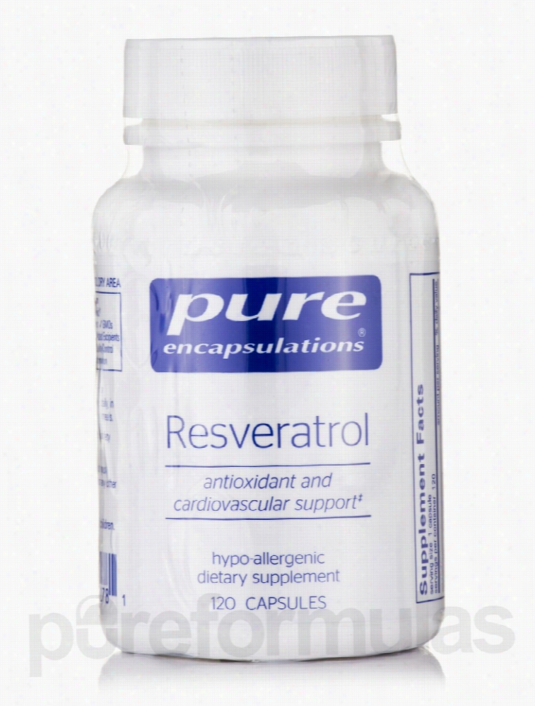 Pure Encapsulations Cardiovascular Support - Resveratrol - 120