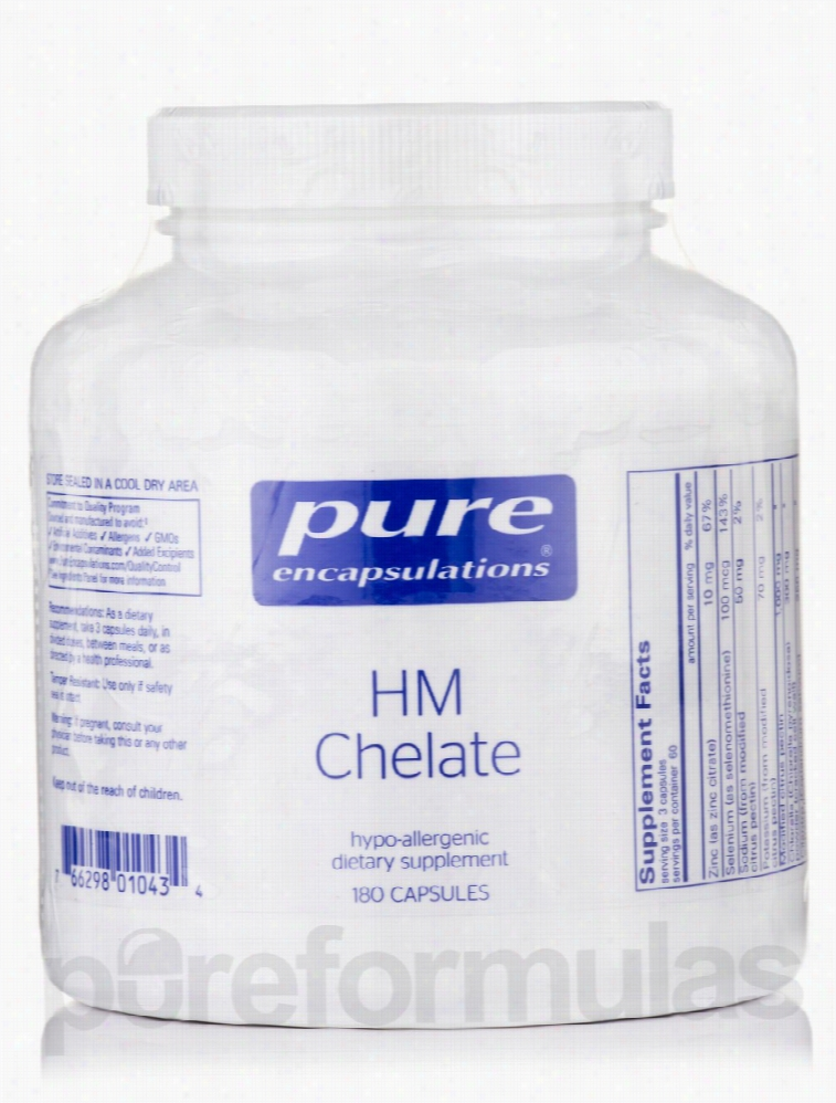 Pure Encapsulations Cellular Support - HM Chelate - 180 Capsules