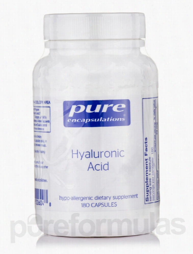 Pure Encapsulations Cellular Support - Hyaluronic Acid - 180 Capsules