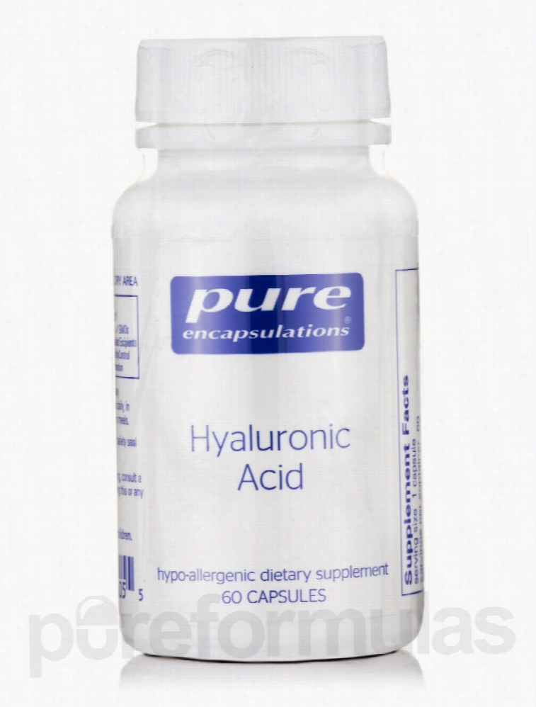 Pure Encapsulations Cellular Support - Hyaluronic Acid - 60 Capsules