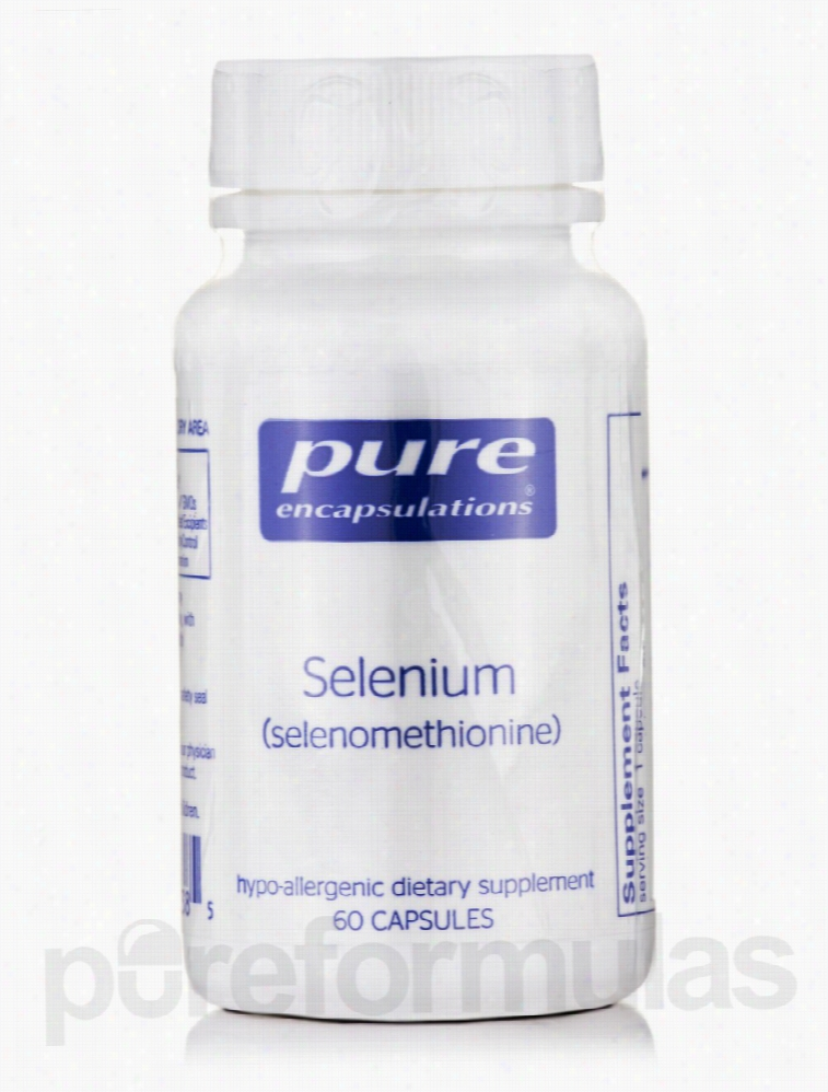 Pure Encapsulations Cellular Support - Selenium (selenomethionine) -