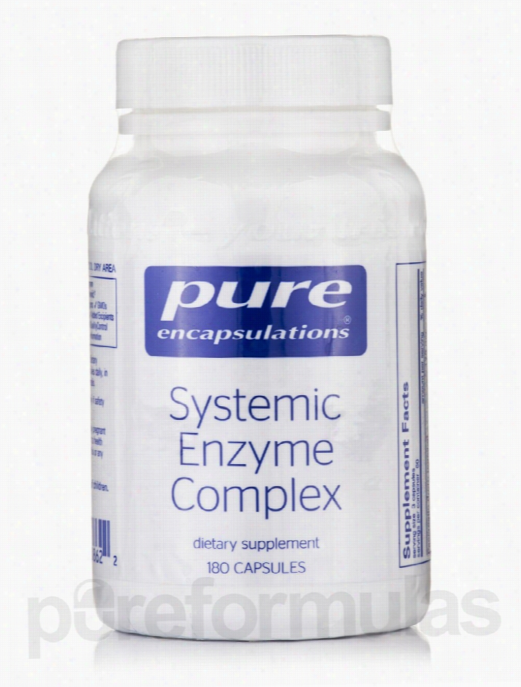 Pure Encapsulations Cellular Support - Systemic Enzyme Complex - 180
