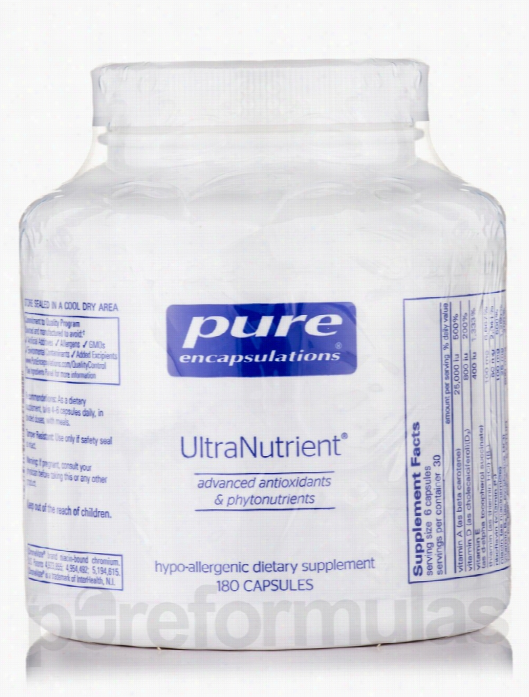 Pure Encapsulations Cellular Support - UltraNutrient - 180 Capsules