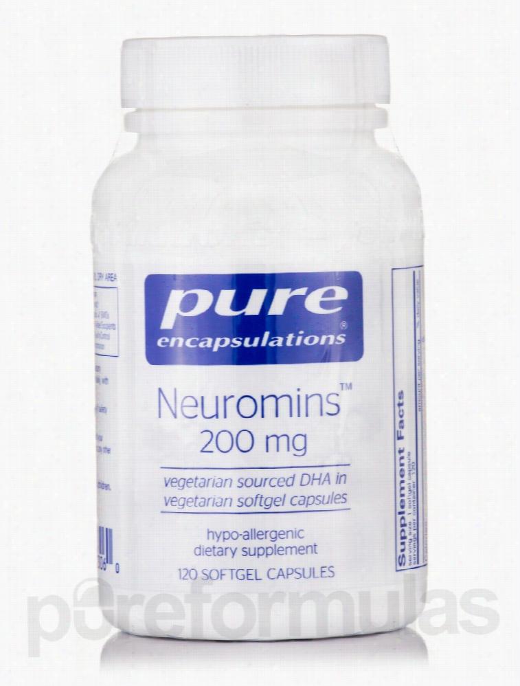 Pure Encapsulations Essential Fatty Acids - Neuromins (DHA) 200 mg -
