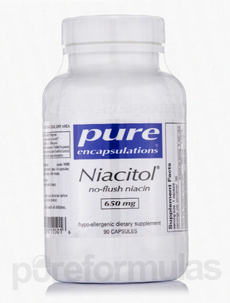Pure Encapsulations Nervous System Support - Niacitol (no-flush