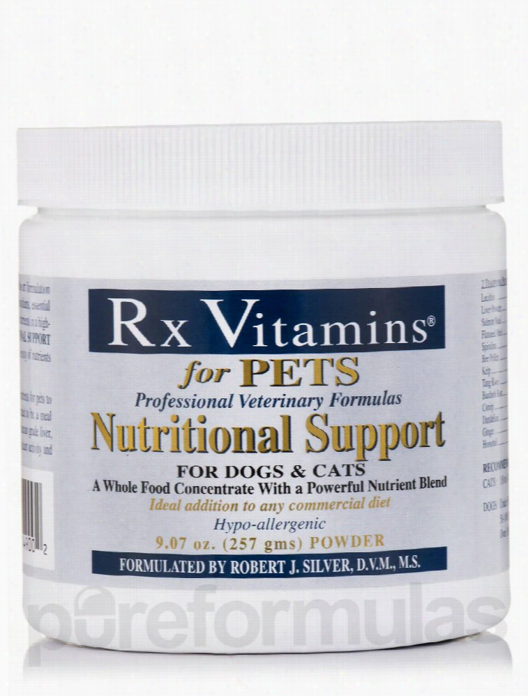 Rx Vitamins Dogs - Nutritional Support for Pets (Dogs & Cats) Powder -