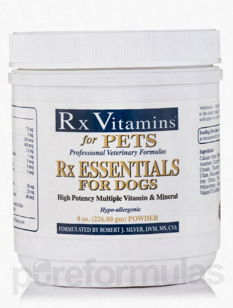 Rx Vitamins Dogs - Rx Essentials for Pets (Dogs) Powder - 8 oz (226.80