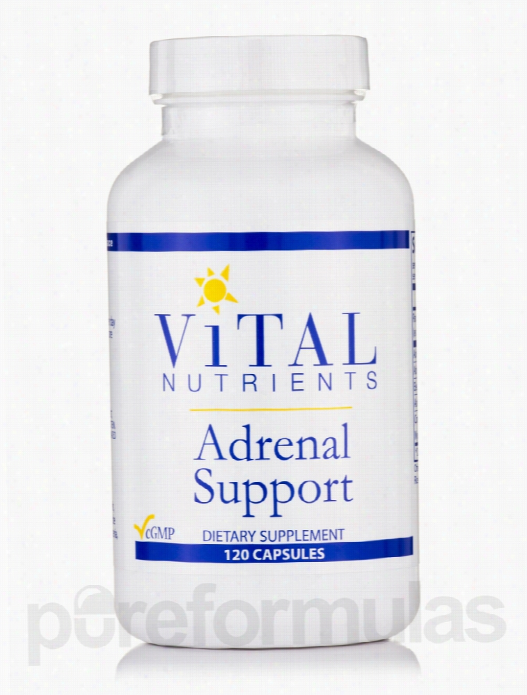 Vital Nutrients Hormone/Glandular Support - Adrenal Support - 120