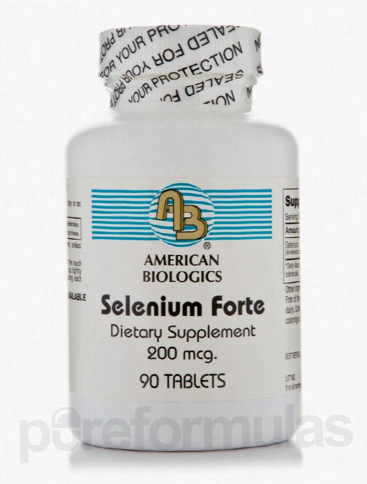 American Biologics Immune Support - Selenium Forte 200 mcg - 90