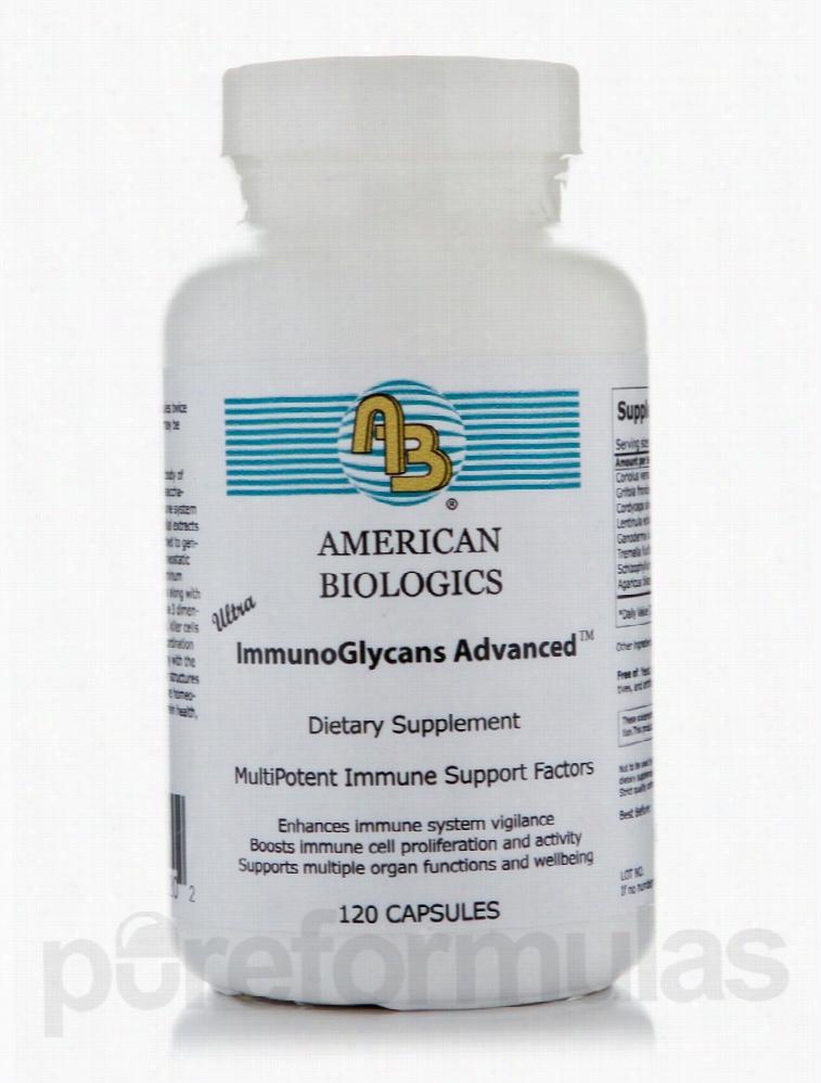 American Biologics Immune Support - Ultra ImmunoGlycans Advanced - 120