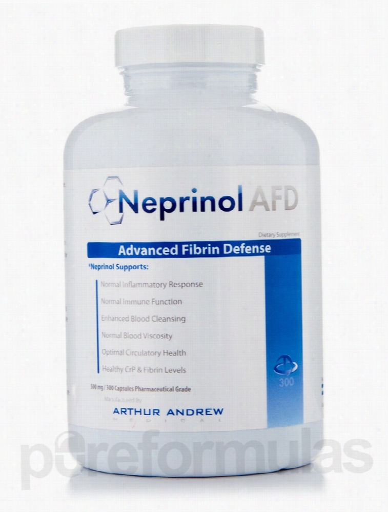 Arthur Andrew Medical Cardiovascular Support - Neprinol 500 mg - 300