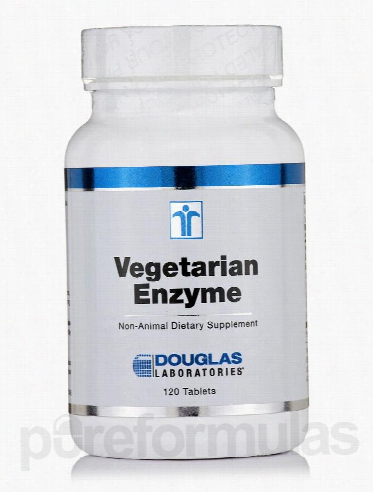 Douglas Laboratories Gastrointestinal/Digestive - Vegetarian Enzyme -