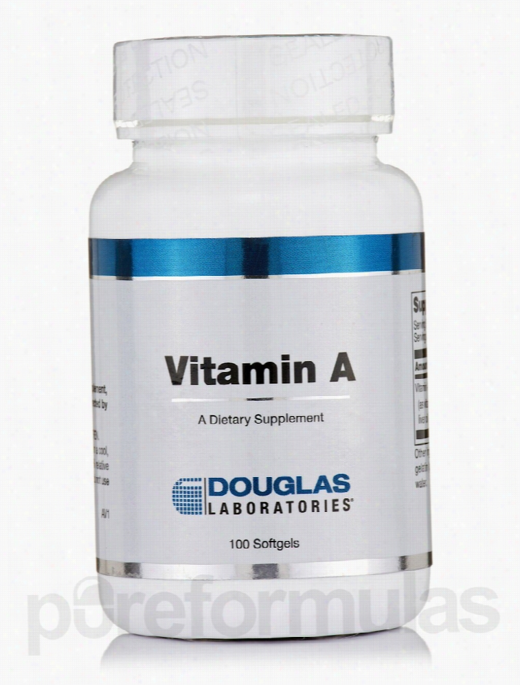 Douglas Laboratories Immune Support - Vitamin A - 100 Softgels