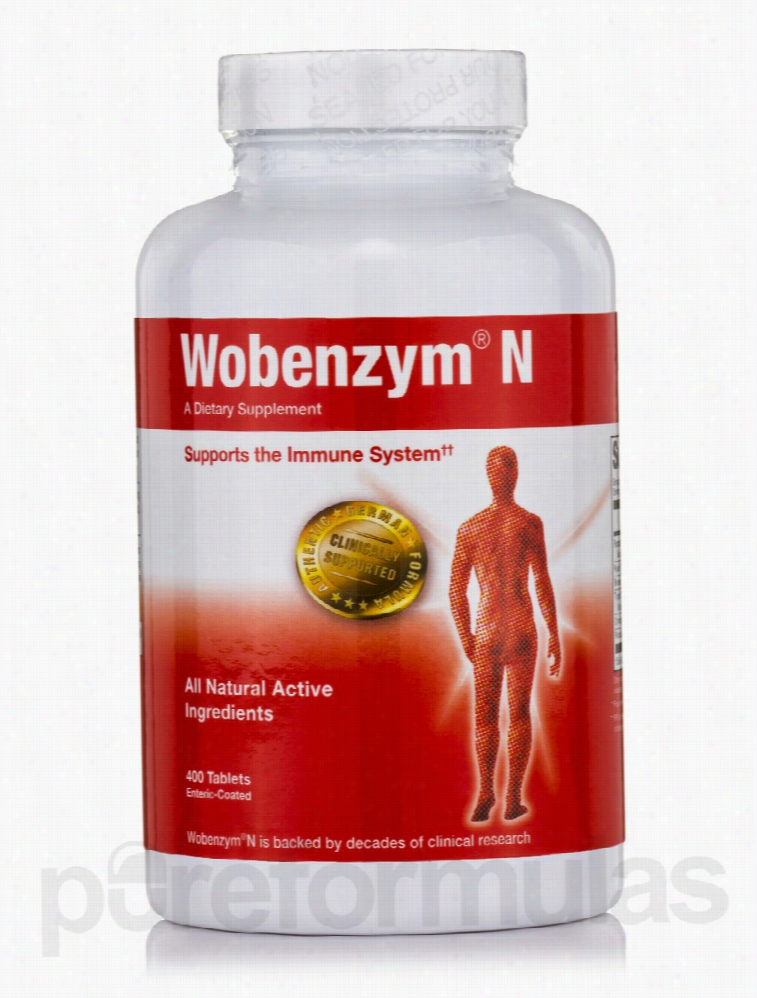 Douglas Laboratories Immune Support - Wobenzym N - 400 Tablets