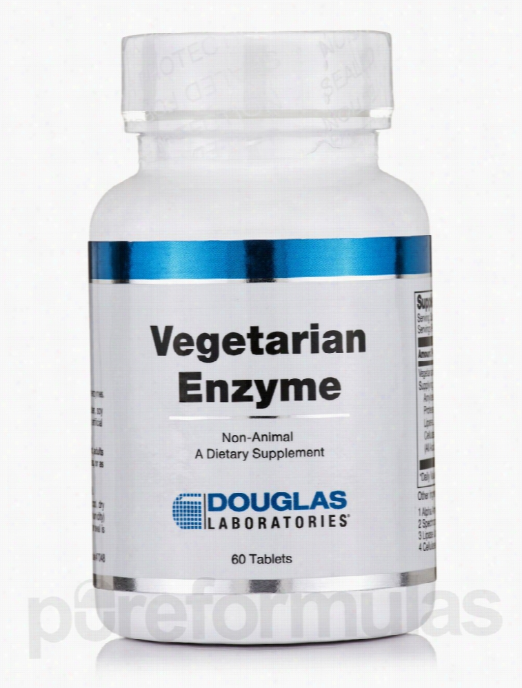 Douglas Laboratories Metabolic Support - Vegetarian Enzyme - 60
