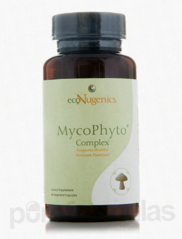 Econugenics Immune Support - MycoPhyto Complex - 60 Vegetable Capsules