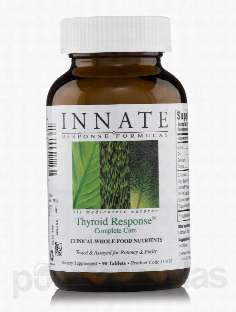 Innate Response Formulas Hormone/Glandular Support - Thyroid Response