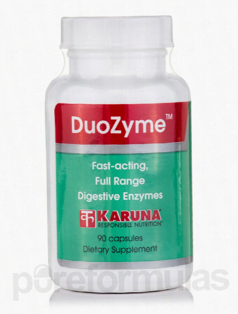 Karuna Health Essential Fatty Acids - DuoZyme - 90 Capsules