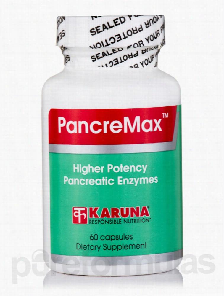 Karuna Health Gastrointestinal/Digestive - PancreMax - 60 Capsules