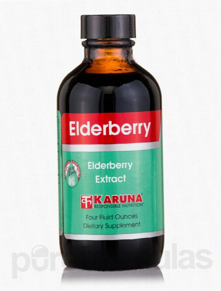 Karuna Health Herbals/Herbal Extracts - Elderberry Extract - 4 fl. oz