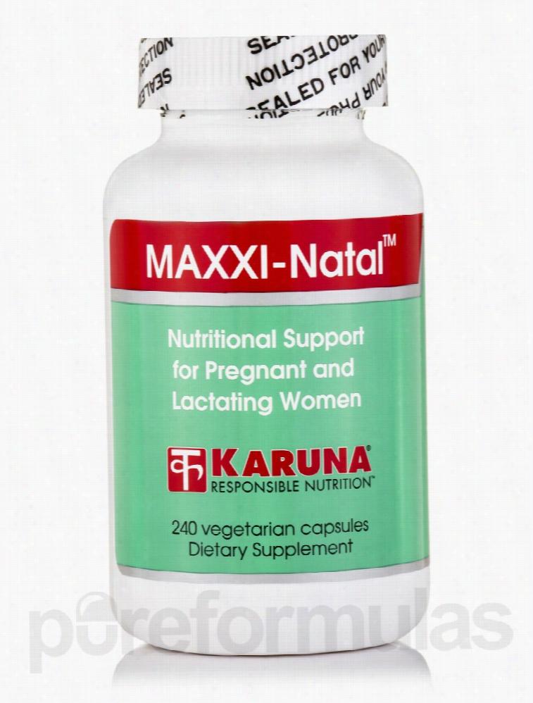 Karuna Health Minerals - MAXXI-Natal - 240 Vegetarian Capsules