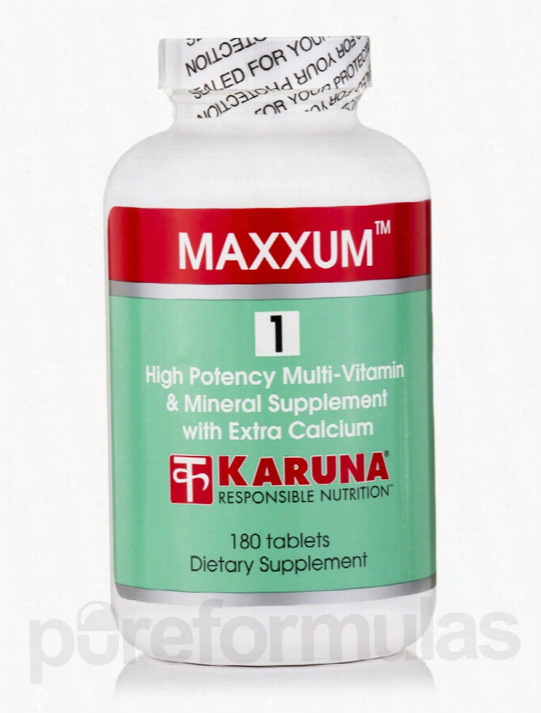 Karuna Health Minerals - Maxxum 1 - 180 Tablets