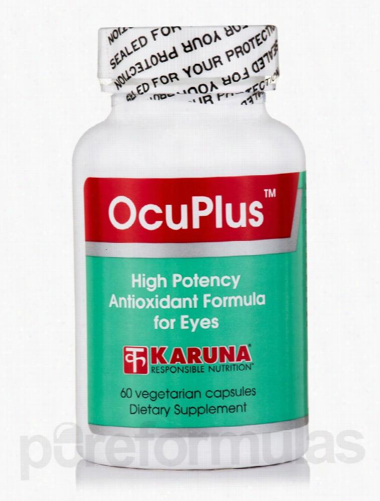 Karuna Health Ocular Health - OcuPlus - 60 Vegetarian Capsules