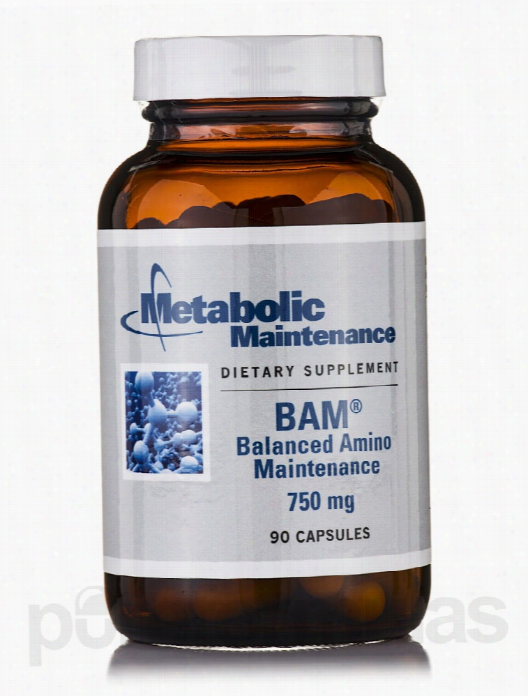 Metabolic Maintenance Amino Acid - BAM Balanced Amino Maintenance 750