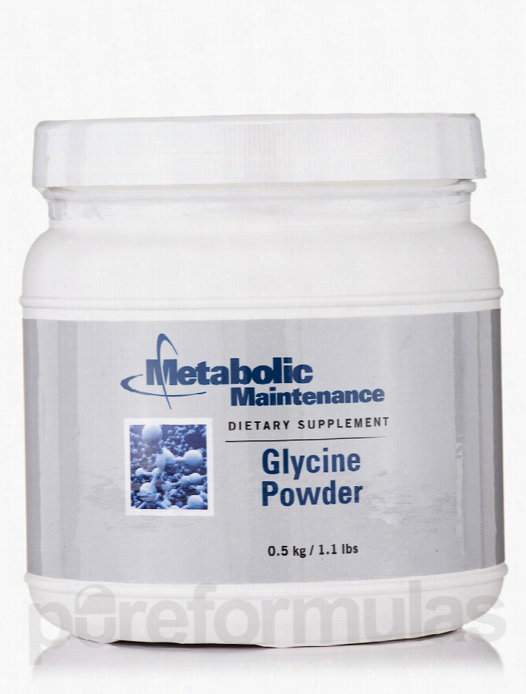 Metabolic Maintenance Amino Acid - Glycine Powder - 1.1 lb (0.5 kg)