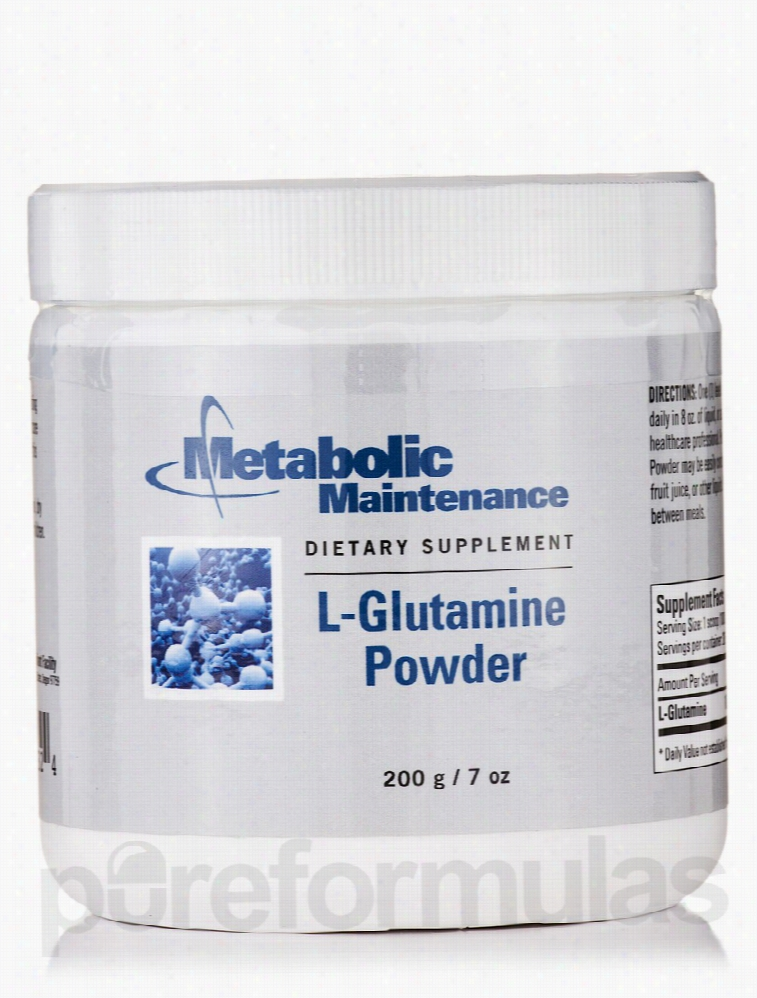 Metabolic Maintenance Cardiovascular Support - L-Glutamine Powder - 7