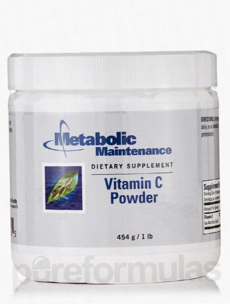 Metabolic Maintenance Cellular Support - Vitamin C Powder - 1 lb (454