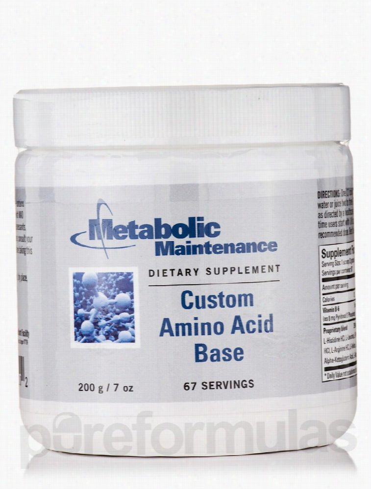 Metabolic Maintenance Immune Support - Custom Amino Acid Base - 67