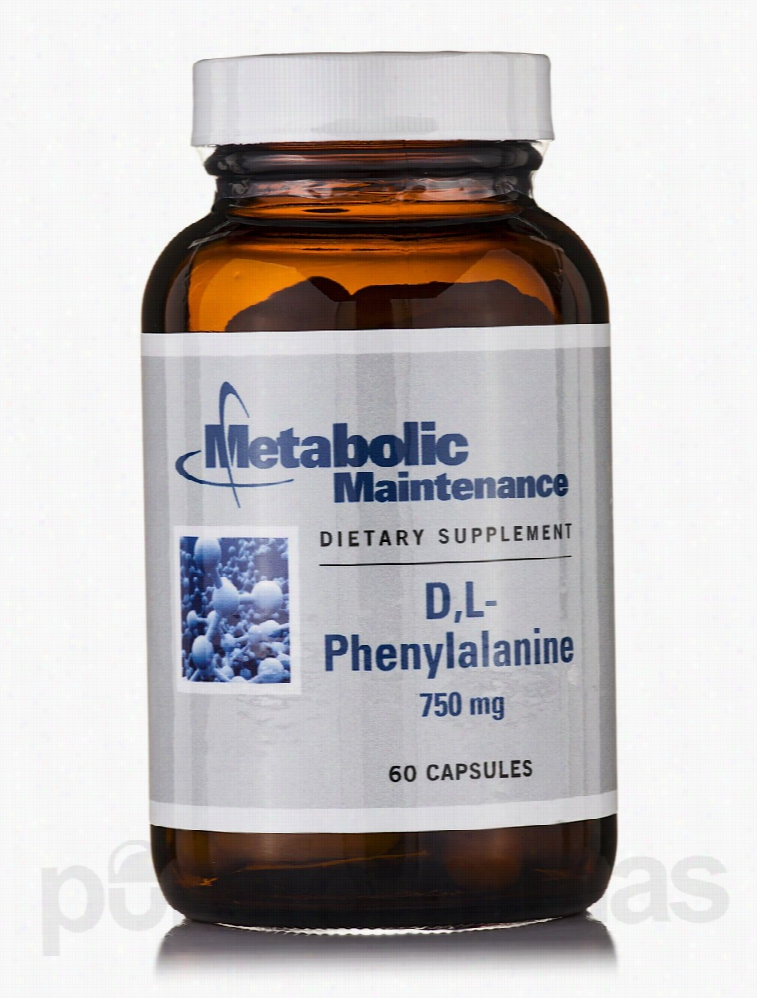 Metabolic Maintenance Memory/Cognitive Support - D,L-Phenylalanine 750