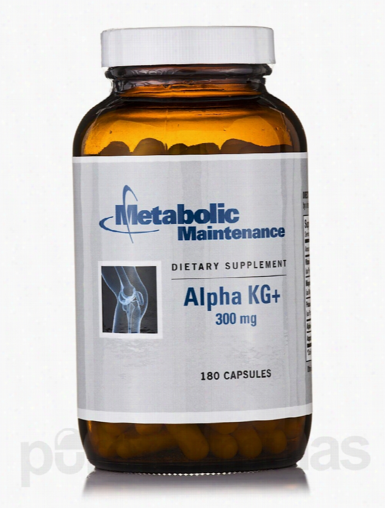Metabolic Maintenance Metabolic Support - Alpha KG+ 300 mg - 180