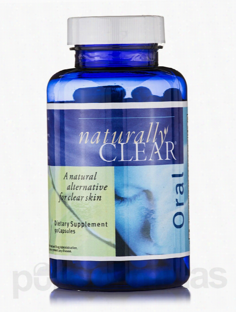 Metabolic Maintenance Skin Care - Naturally Clear Oral - 90 Capsules