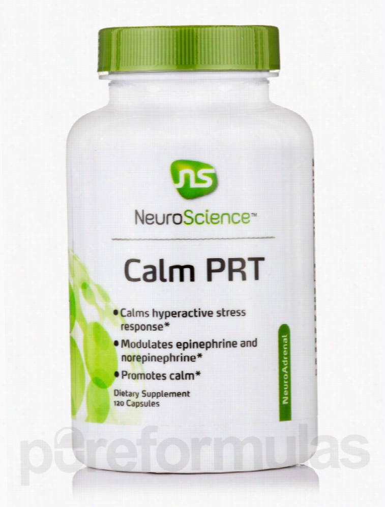 NeuroScience Nervous System Support - Calm-PRT - 120 Capsules