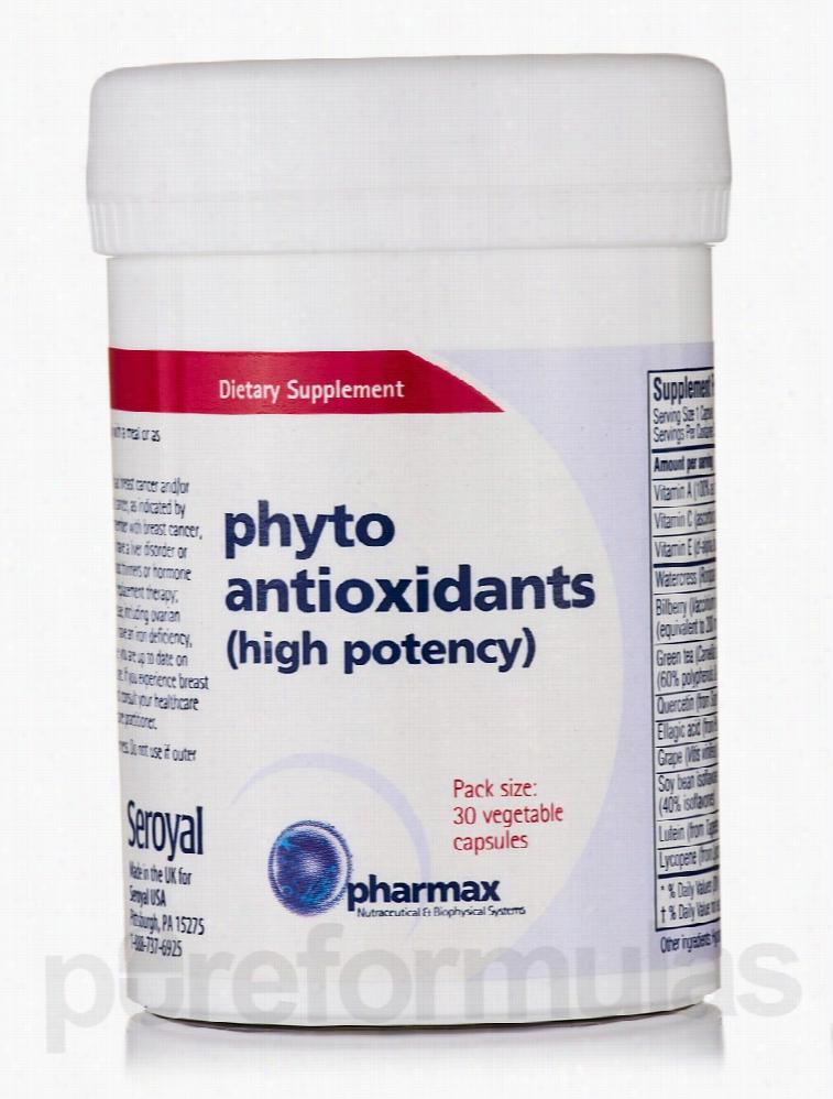 Pharmax Cellular Support - Phyto Antioxidants (high potency) - 30