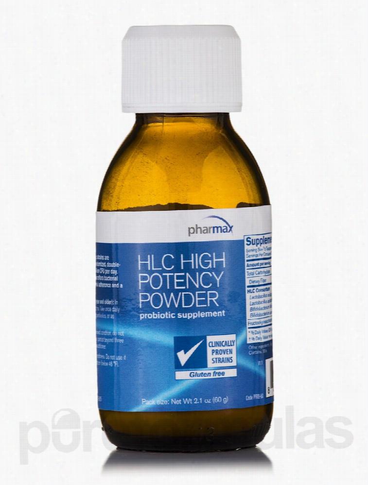 Pharmax Gastrointestinal/Digestive - HLC High Potency Powder - 2.1 oz