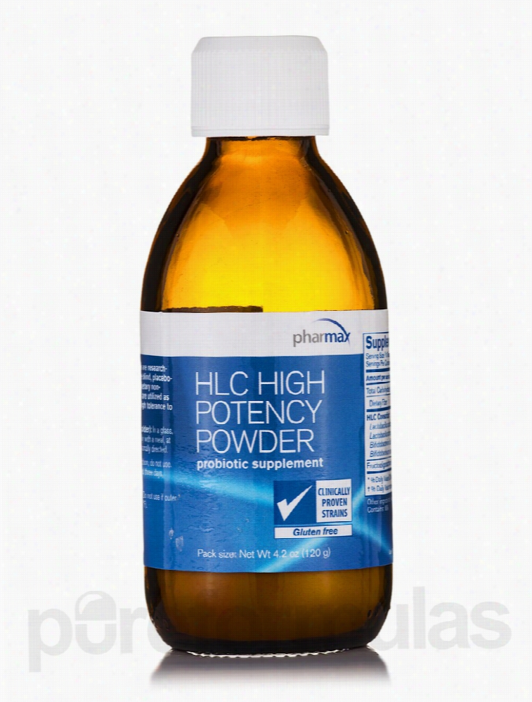 Pharmax Gastrointestinal/Digestive - HLC High Potency Powder - 4.2 oz