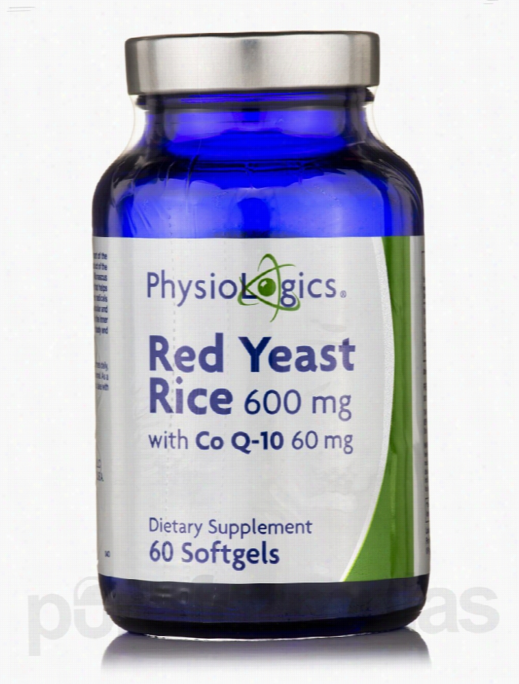 Physiologics Cardiovascular Support - Red Yeast Rice 600 mg with CoQ10