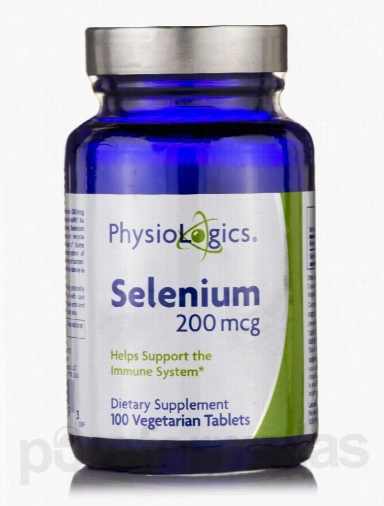 Physiologics Cellular Support - Selenium 200 mcg - 100 Vegetarian