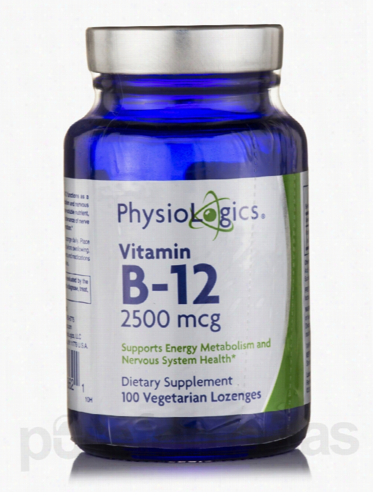Physiologics Nervous System Support - Vitamin B-12 2500 mcg - 100