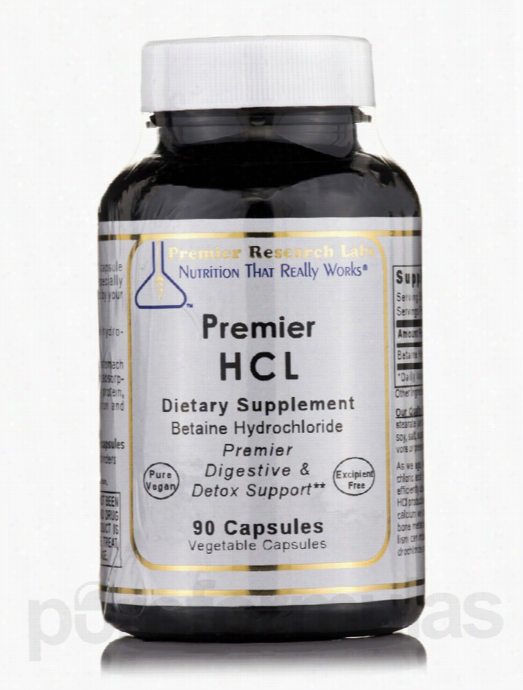 Premier Research Labs Detoxification - Premier HCL - 90 Vegetable