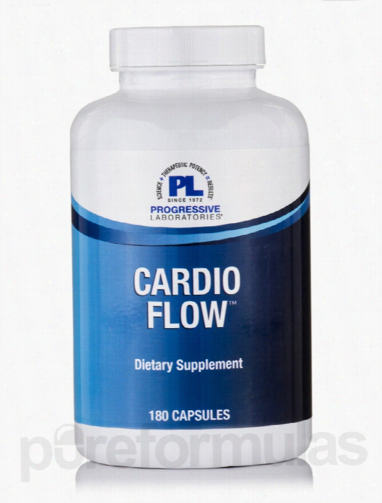 Progressive Labs Cardiovascular Support - Cardio Flow - 180 Capsules